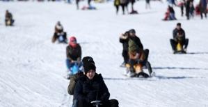 Kayak Merkezinde Tatil Yoğun Geçti