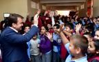 Başkan Erkoç Esentepe Ortaokulu'nda