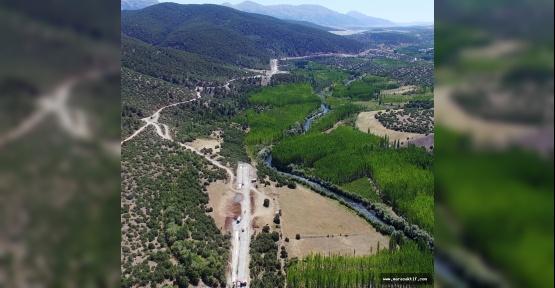 Adatepe Barajında Çalışmalar Sürüyor