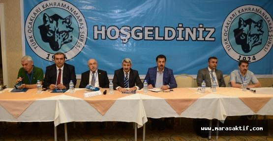 Türk Ocakları Kahramanmaraş'ta Toplandı