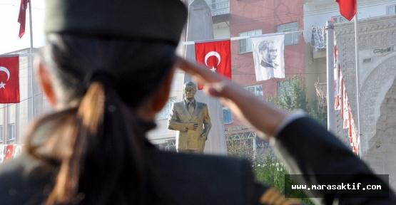 Atatürk İlçelerde Anıldı