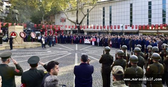 Atatürk Törenle Anıldı