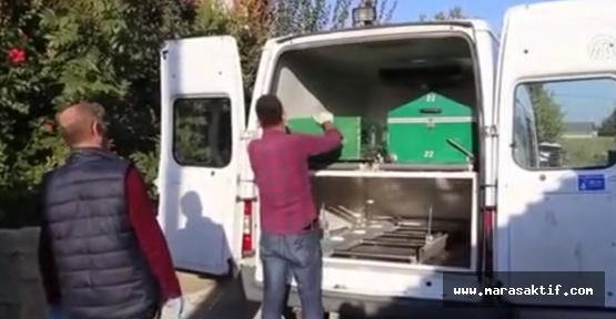 Baba ve Çocukların Cenazesi Kahramanmaraş'a Getirildi