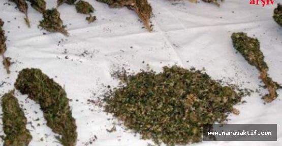 Kahramanmaraş'ta Uyuşturucu Yakalandı
