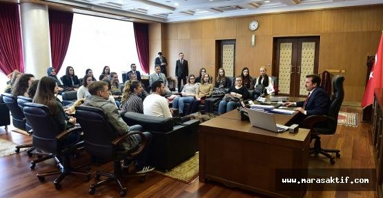 Bosnalı Öğrenciler Sömestr Tatiline Geldi