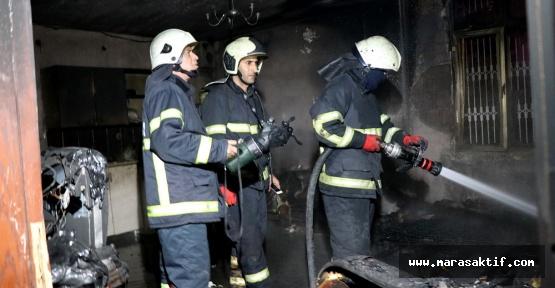 Elektrikli Battaniyeden Yangın Çıktı