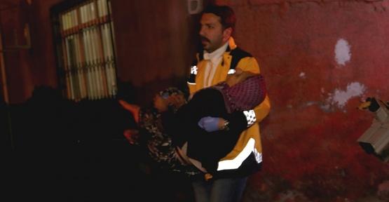 Yangında 4 Kişi Yaralandı