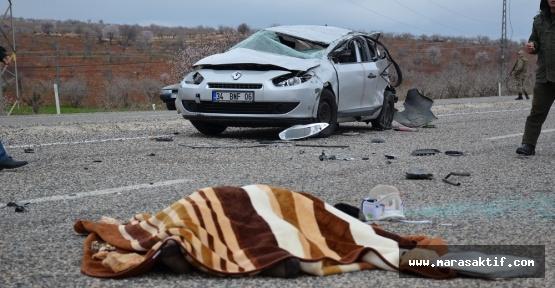 Trafik Kazası 1 Ölü 5 Yaralı