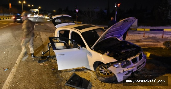 Trafik Kazası 3 Yaralı