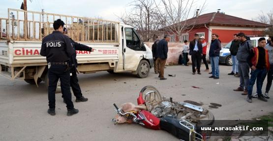 Kahramanmaraş'ta Kaza 2 yaralı