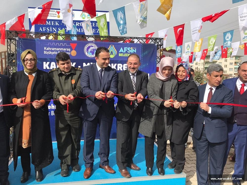 Mikro Kredi Afşin Satış Merkezi Açıldı