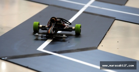 Kahramanmaraş'ta Robotlar Yarışıyor