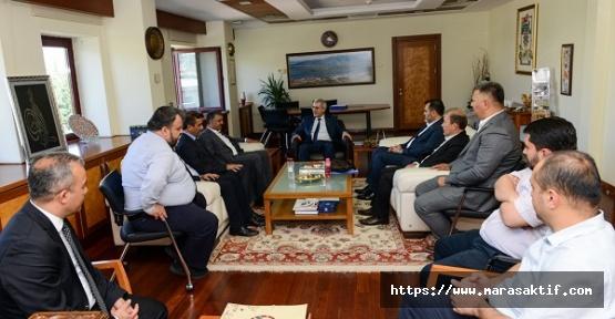 AK Parti'den Rektöre Ziyaret