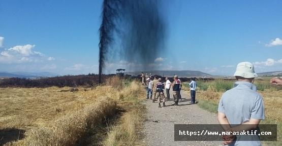 Kahramanmaraş'ta Petrol Fışkırıyor