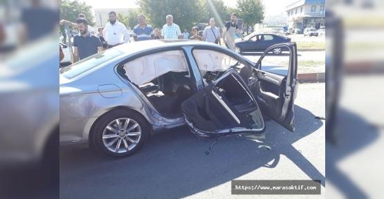 AK Parti Milletvekili Adayı Öçal Kaza Geçirdi