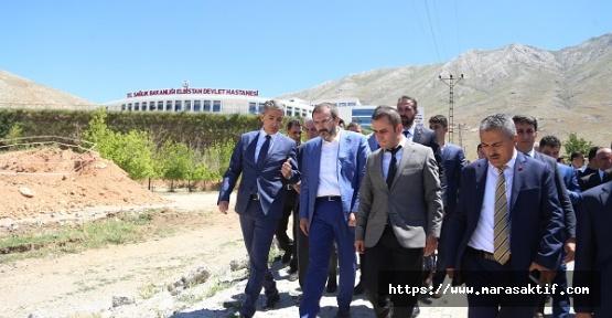 Ünal, Elbistan'da Açılışlara Katıldı