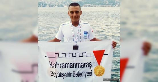 Büyükşehir Sporcusu Gümüş Madalya Aldı