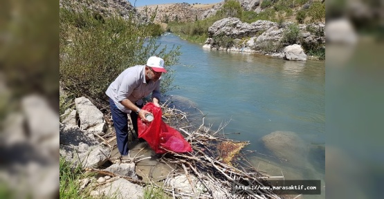 Afşin Belediye Başkanı Çöp Topladı