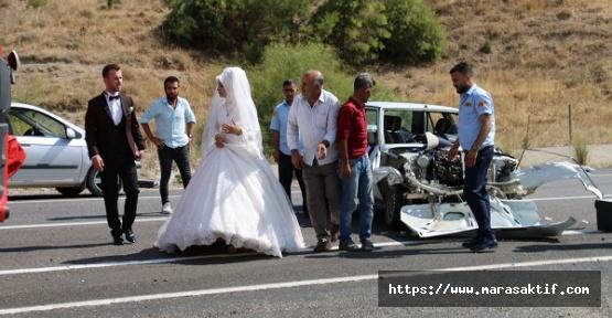 Düğün Konvoyunda Kaza
