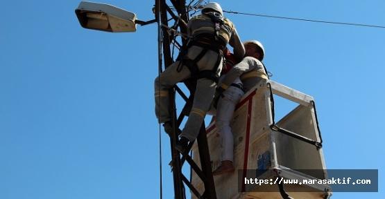 Elektrik Çarpan Usta Öldü