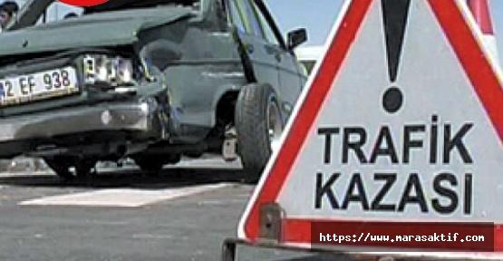 Otomobiller Çarpıştı 8 Yaralı