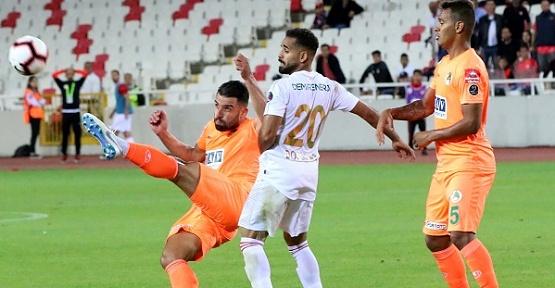 Sivasspor Alanyaspor'u 1-0 Yendi