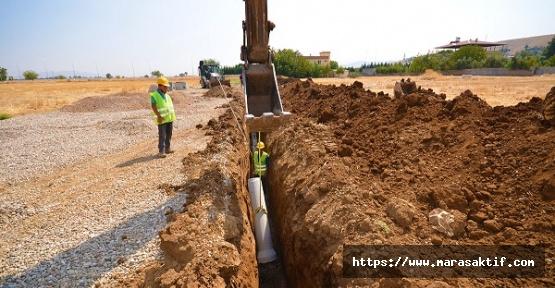 Türkoğlu'nda Ek Kanalizasyon Yapılıyor