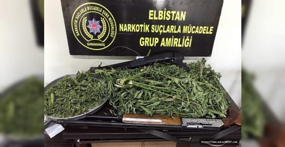 Elbistan'da Uyuşturucu Ele Geçirildi