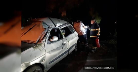 Kazada Biri Bebek 5 Kişi Yaralandı