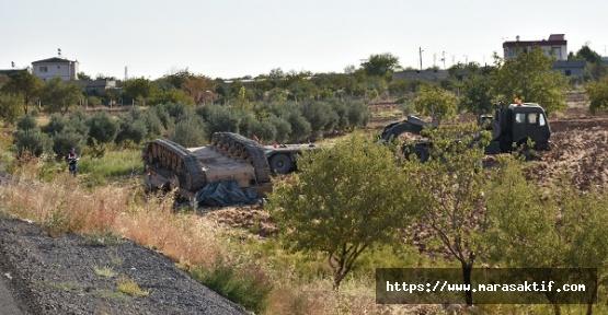 Tank Devrildi 3 Asker Yaralandı