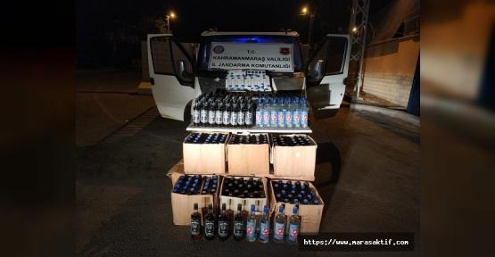 Kaçak İçki ve Sigara Ele Geçirildi