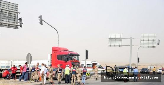 Kahramanmaraş'ta Kaza 2 Ölü 5 Yaralı