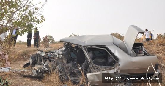 Trafik Kazasında 2 Ölü 5 Yaralı