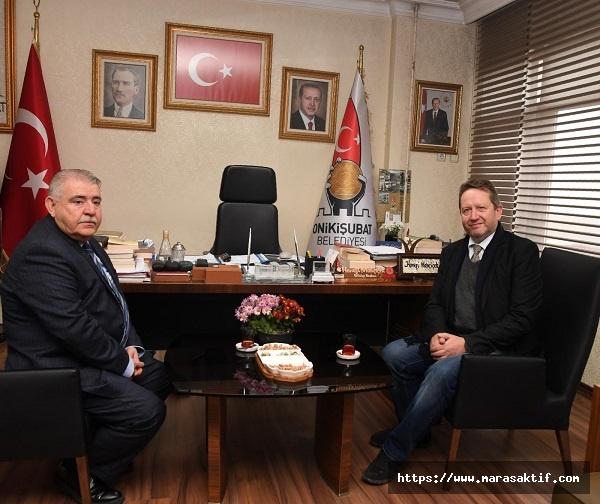 Başkonsolos Mahçiçek'i Ziyaret Etti
