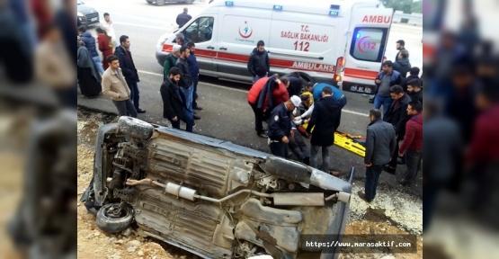 Fireni Tutmayan Araç Kaza Yaptı