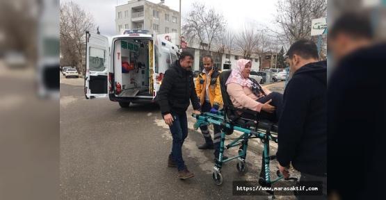 Darbedilen Kadın Hastaneye Kaldırıldı