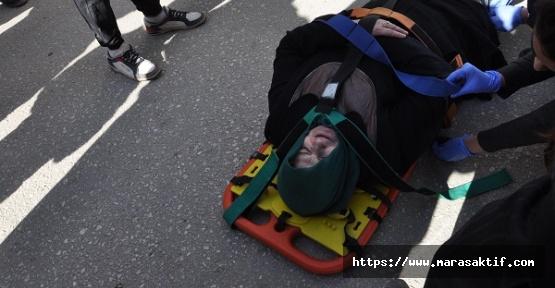 Elektrikli Bisiklet Çarptı Yaralandı