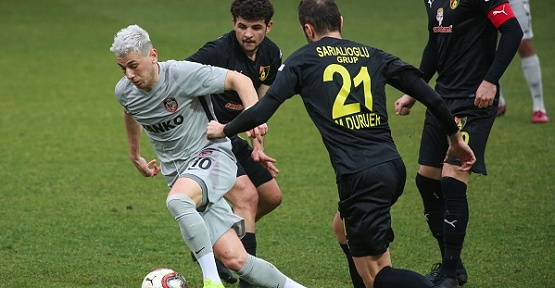 İstanbulspor: 2 - Gazişehir Gaziantep: 2