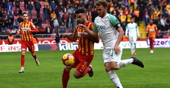 İstikbal Mobilya Kayserispor: 1 - Bursaspor: 1