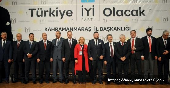 İYİ Parti Kahramanmaraş Adaylarını Tanıttı