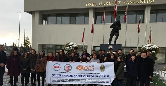 Öğrencilere Ankara Gezisi Düzenlendi