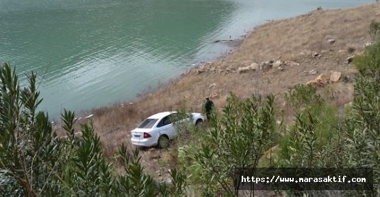 Otomobil Uçurumdan Düştü