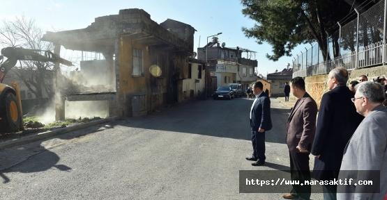 Dulkadiroğlu'nda 80 Bina Yıkıldı