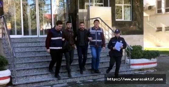 Firari Mahkumlar Suçüstü Yakalandı