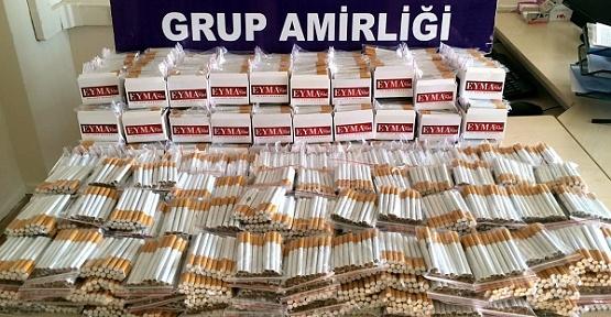 Kaçak Sigara ve Tütün Ele Geçirildi