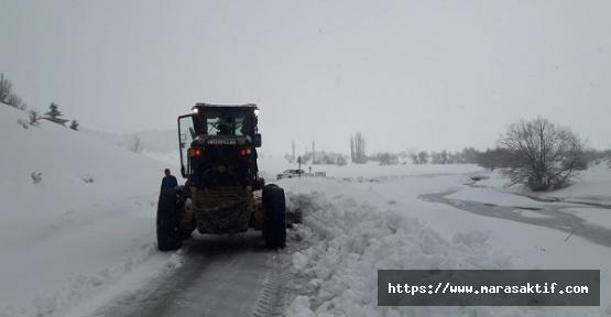 Kar Kahramanmaraş'ı Kapattı