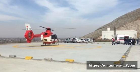 Hasta Helikopterle Taşındı