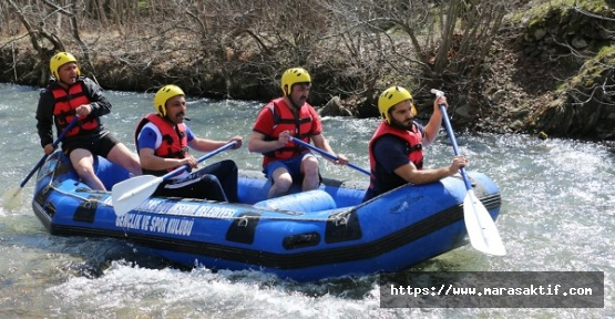 Kahramanmaraş'ta Rafting Heyecanı