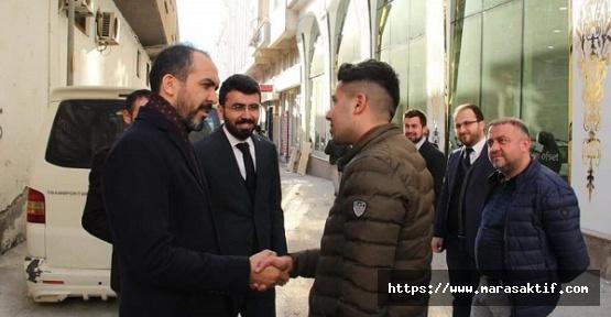Özdemir Esnaf Ziyaretini Sürdürdü