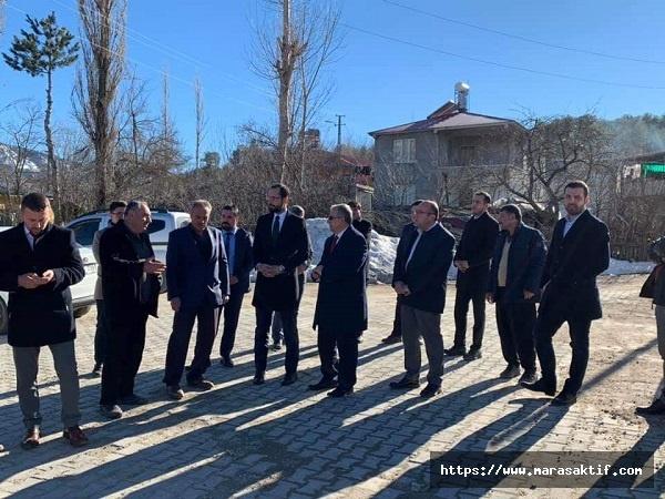 Sezal, Andırın'da Vatandaşlarla Buluştu